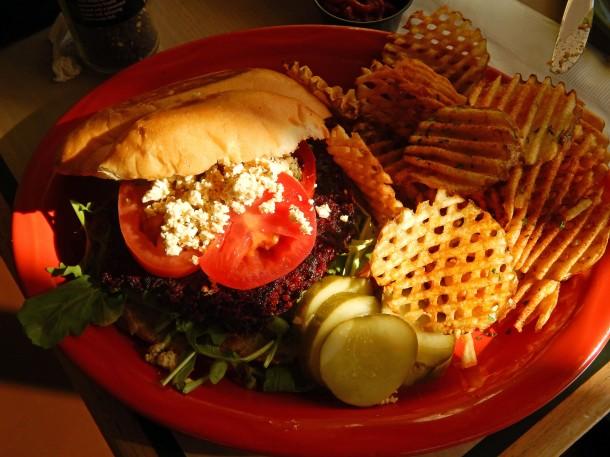 Senor Veggie Beet Burger