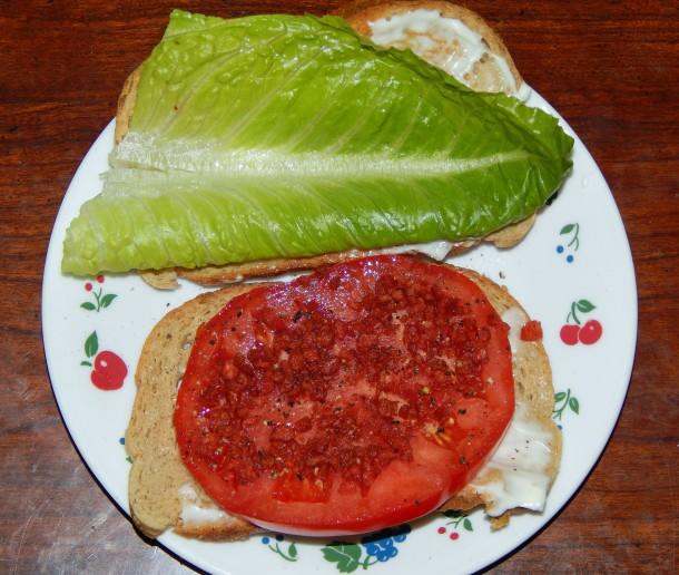 Southern Tomato Sandwich - Vegan