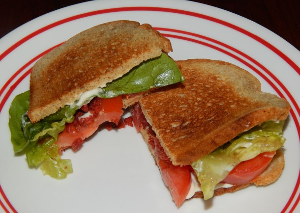 Vegan Tomato Sandwich