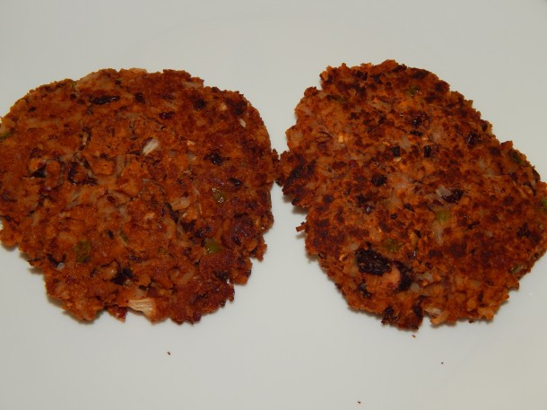 Baked Rajmah Masala Patties