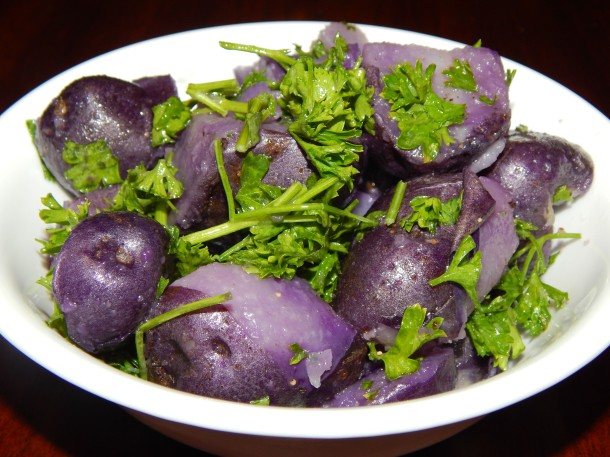 Produce Box Purple Potatoes