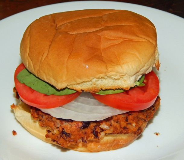 Rajmah Masala Burger 2