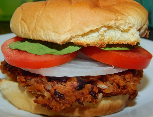 Rajmah Masala Burger