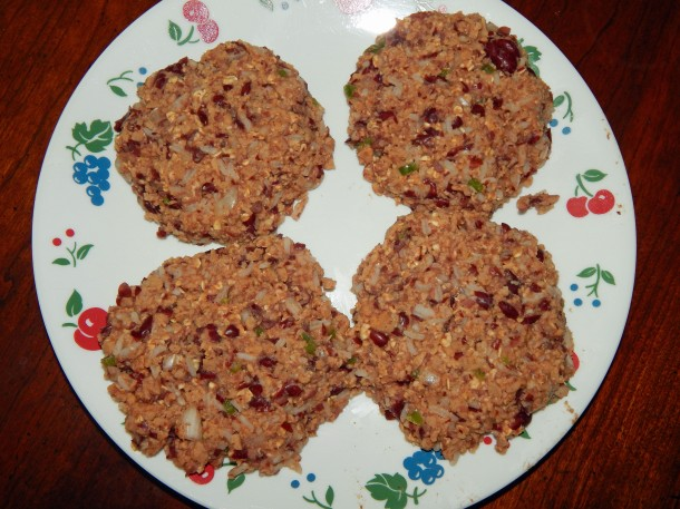 Rajmah Masala Patties Uncooked