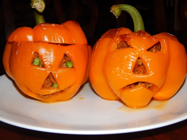 orange-bell-pepper-jack-o-lanterns