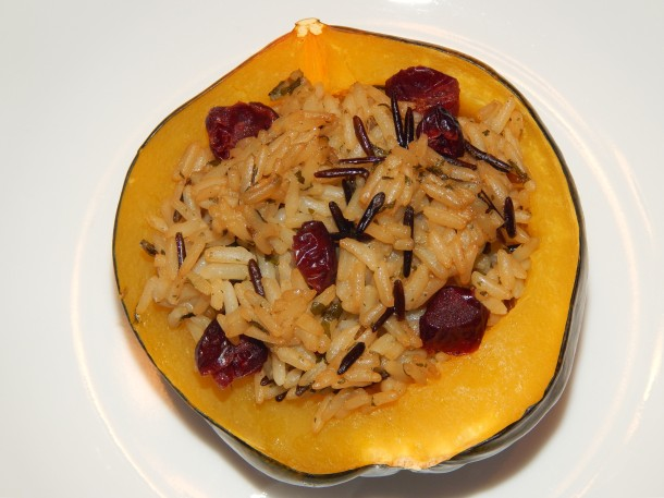 wild-rice-and-cranberry-stuffed-acorn-squash