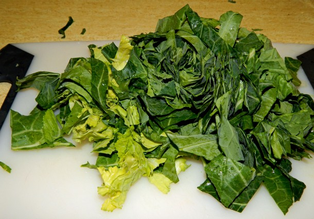 chopped-collards