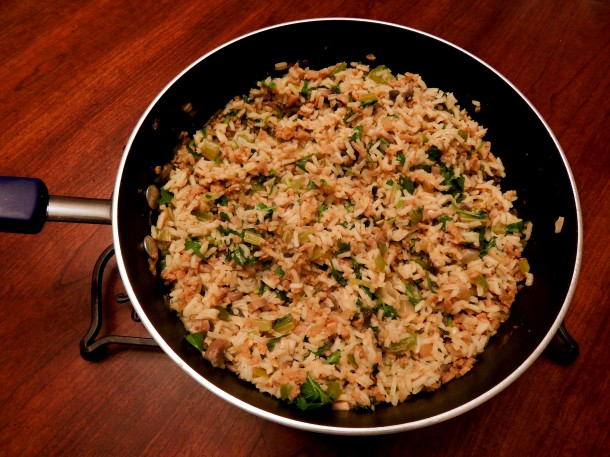 dirty-rice-in-pan