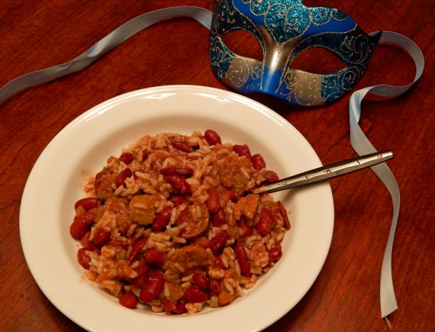 New Orleans Red Beans and Rice Vegan