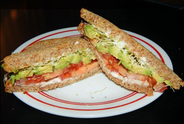 California Avocado Sandwich