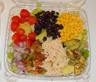 Vegganers Luck Southwest Cobb Salad