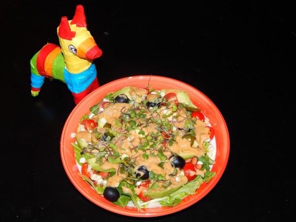 Cinco de Mayo Salad With Donkey