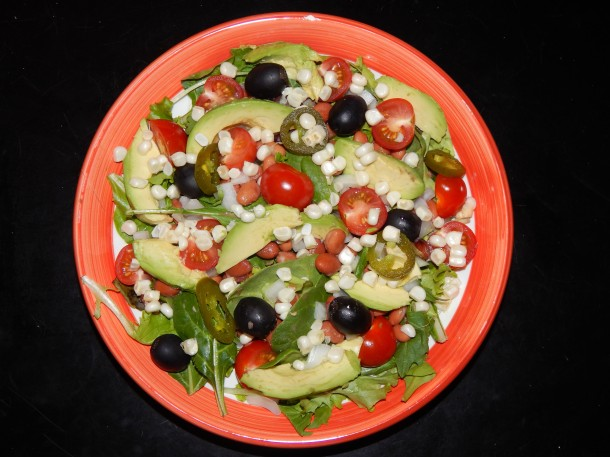 Cinco de Mayo Salad without Dressing