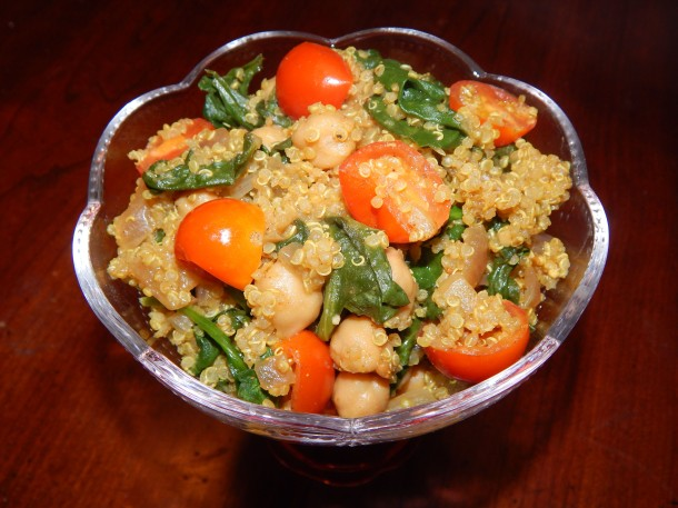 Indian Quinoa Vegan 2