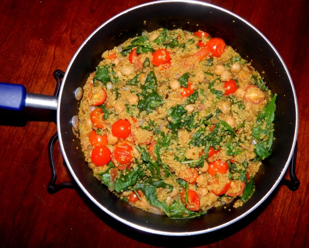 Indian Quinoa Vegan
