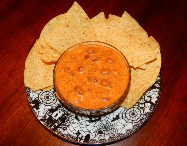 Not Yo Mamas Chili Bean Cream Cheese Dip Vegan 2