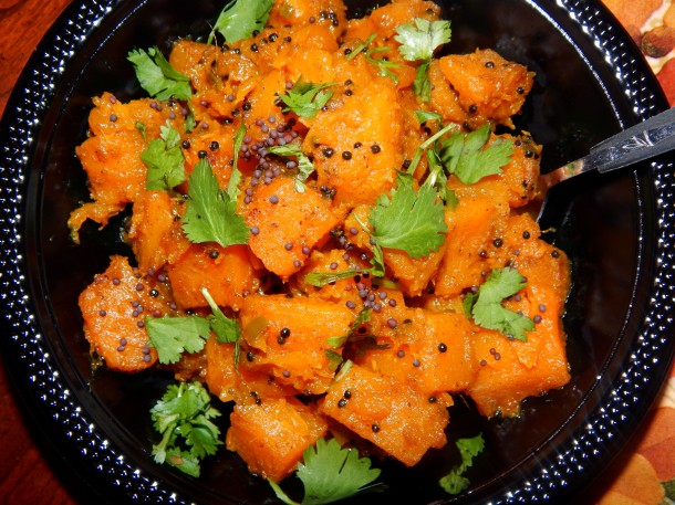 Sweet and Spicy Curried Butternut Squash 3