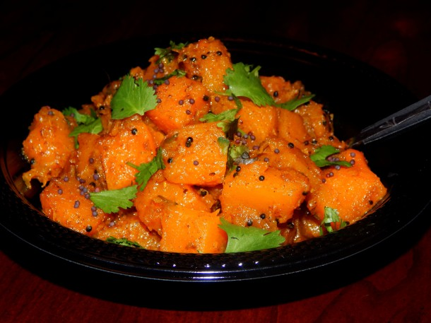 Sweet and Spicy Curried Butternut Squash 5