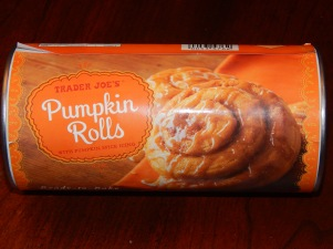 Trader Joe's Pumpkin Rolls Can