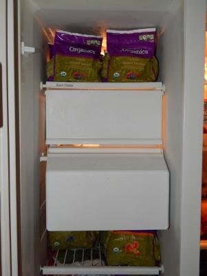 Top Half of Freezer