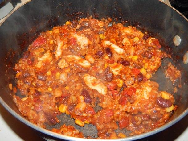 Gardein Chick'n Fiesta Cooked
