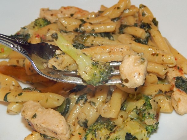 Gardein Chick'n Florentine On Fork