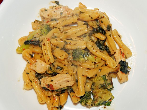 Gardein Chick'n Florentine On Plate