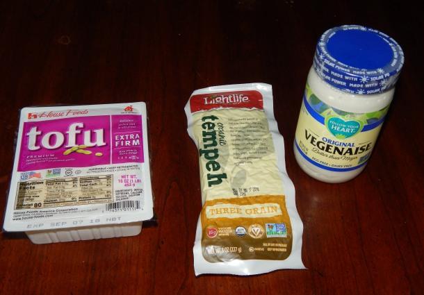 Tofu Tempeh Mayo