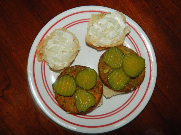 White Castle Slider Onions and Pickles