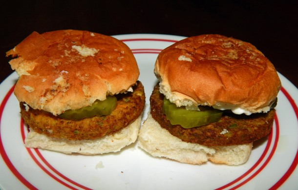 White Castle Veggie Sliders