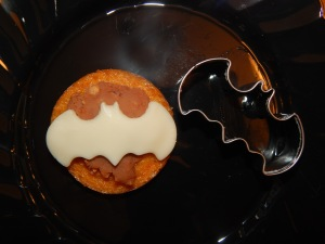 Polenta Bat and Cookie Cutter
