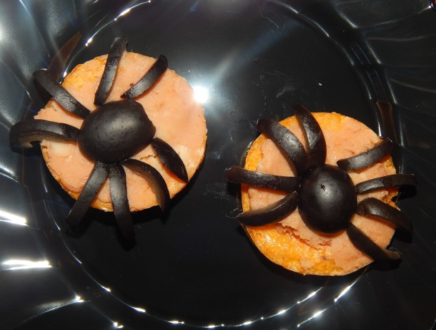 Polenta Spiders