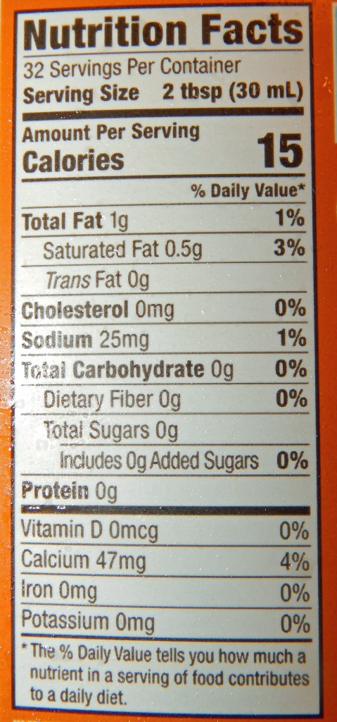 Califia Farms Pumpkin Spice Better Half Nutrition Info