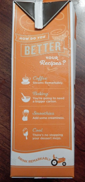 Califia Farms Pumpkin Spice Side of Box 2