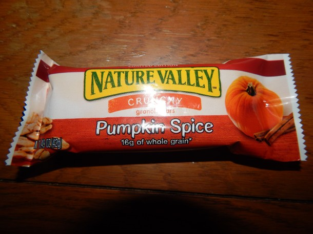 Nature Valley Pumpkin Spice Granola Bar In Wrapper