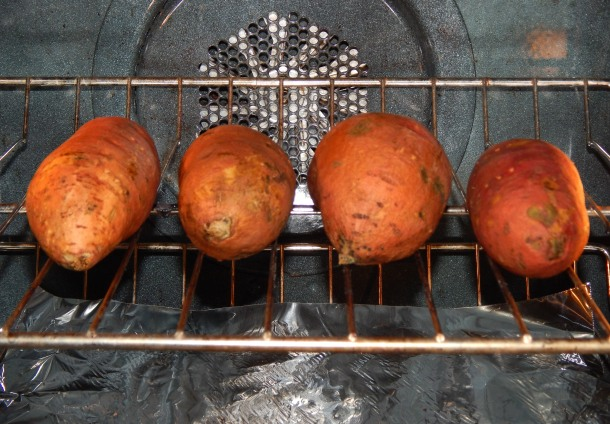 Sweet Potatoes In Oven
