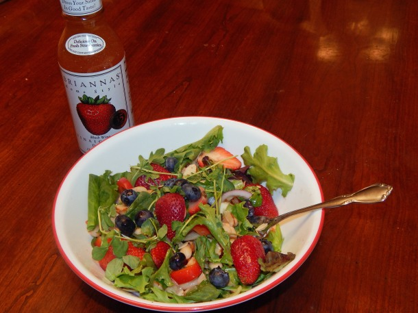Strawberry Dinner Salad Briannas