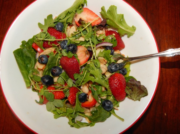 Strawberry Dinner Salad